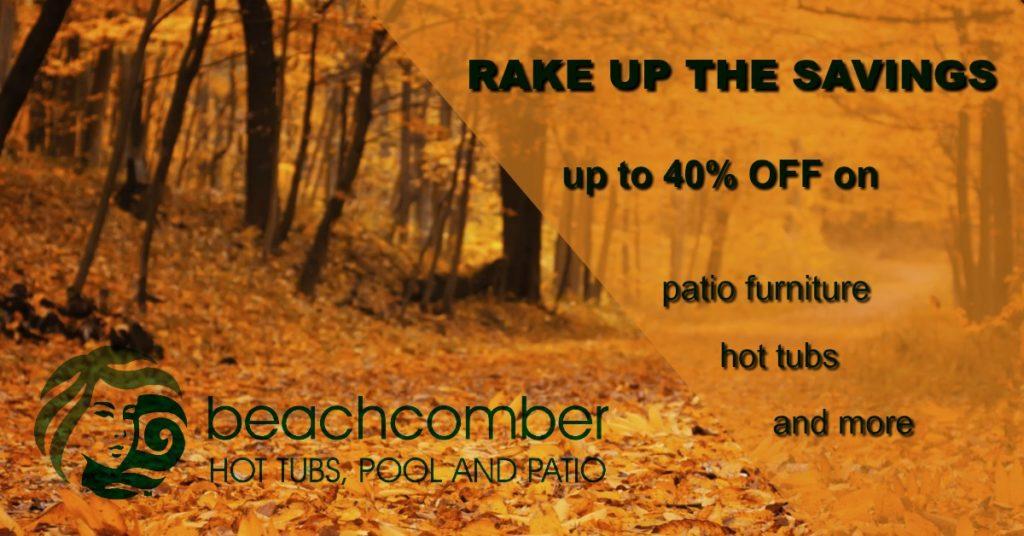Beachcomber Hot Tub Savings
