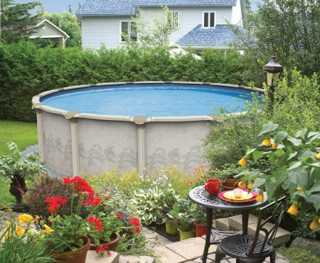Above ground pool hook up