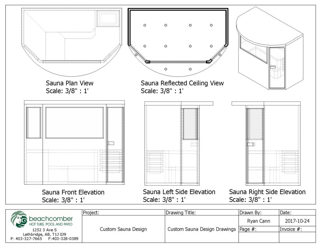 Custom Built Saunas