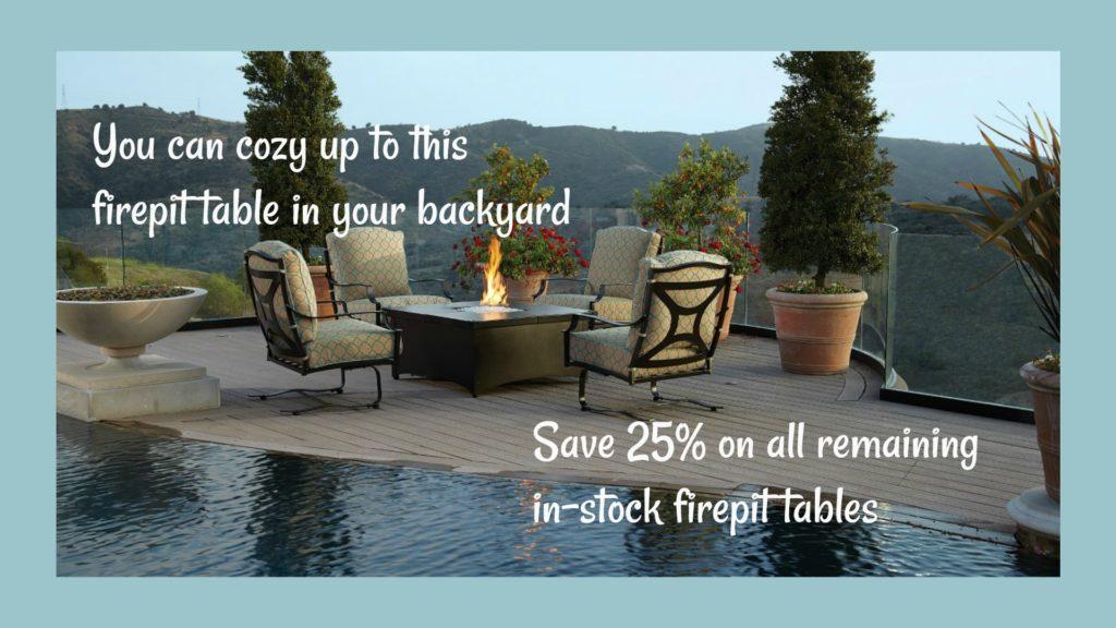 Firepit Tables