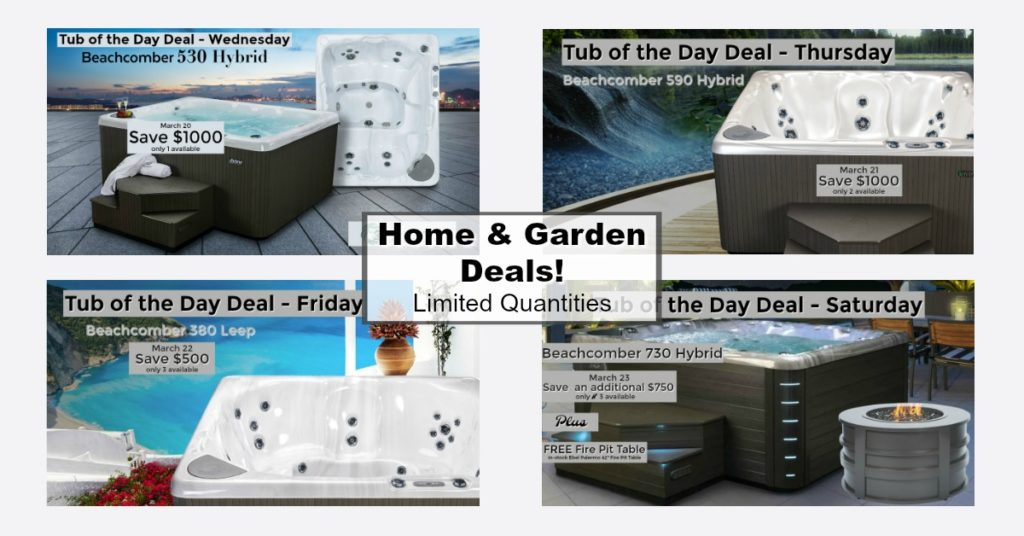 Tub of the Day Deal